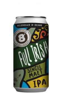 Review the Full Irish Single Malt IPA, from Eight Degrees Brewing