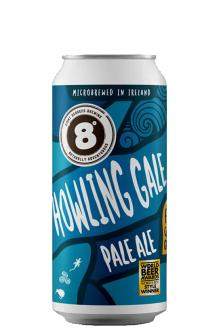 Review the Howling Gale Pale Ale, from Eight Degrees Brewing