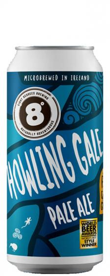 Eight Degrees Howling Gale Pale Ale, 4.5% ABV