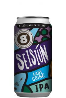 Review the Seisiun Easy Going IPA, from Eight Degrees Brewing