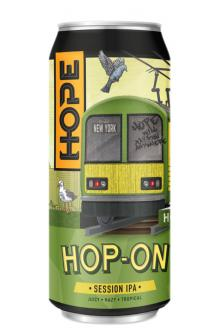 Review the Hop-On Session IPA Can, from Hope Beer