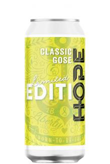 Review the Limited Edition #25 Classic Gose Can, from Hope Beer