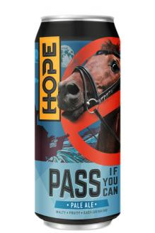 Review the Pass If You Can Pale Ale Can, from Hope Beer