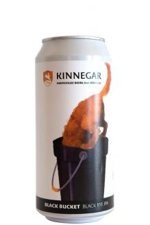 Review the Black Bucket Black Rye IPA Can, from Kinnegar Brewing