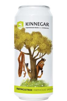 Review the Swingletree Farmhouse Saison Can, from Kinnegar Brewing