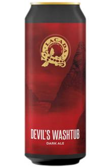 Review the Devil's Washtub Dark Ale Can, from Lacada Brewery Co-Operative