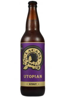Review the Utopian Stout Bottle, from Lacada Brewery Co-Operative