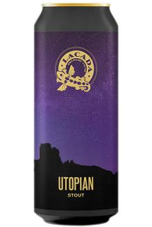 Review the Utopian Stout Can, from Lacada Brewery Co-Operative