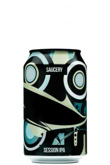 Review the Saucery Session IPA, from Magic Rock Brewing