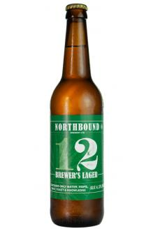 Click on the Northbound 12 Brewer's Lager, 500ml can image to review the facts