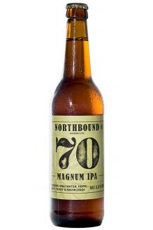 Click on the Northbound 70 Magnum IPA, 500ml can image to review the facts