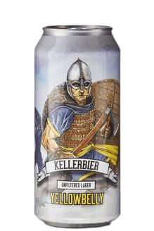Review the Kellerbier Unfiltered Lager Can, from YellowBelly Beer
