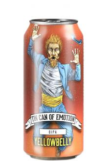 Review the Tin Can Of Emotion DIPA Can, from YellowBelly Beer