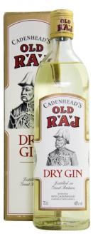 Click on image to review the Red Label 46%, Old Raj Gin