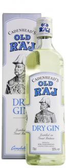 Click on image to review the Blue Label 55%, Old Raj Gin