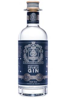 Review the Double Gin, from The Boatyard Distillery