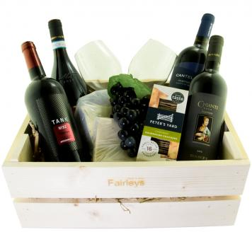 Review the Italian Red Gift Hamper, from Banfi Wine | Cantele | Cantine Minini | Monte Del Fra