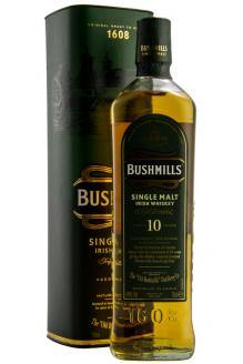 View the facts for the Bushmills 10 Year Old Single Malt Irish Whiskey