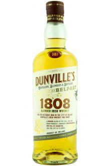 Review the Dunville's 1808 Blended Irish Whiskey, from Echlinville Distillery