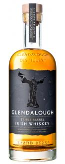70cl bottle, Glendalough Triple Barrel Irish Whiskey, with a non-personalised label