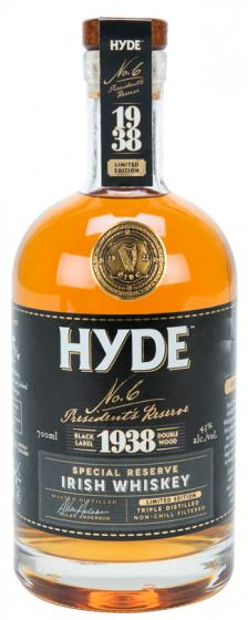 Hyde No6 Sherry Finish Available From Fairley's Wines