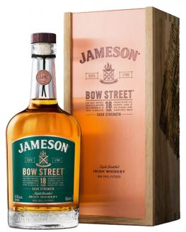 Review the Jameson Bow Street 18 Year Old Cask Strength