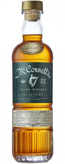 McConnell's 5 Year Old Blended Irish Whiskey, 42% ABV