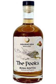 Review the Pooka Hazelnut Irish Poitin, from Mourne Dew Distillery