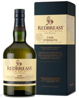 Review the 12 Year Old Cask Strength, from Redbreast Irish Whiskey