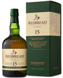Review the 15 Year Old, from Redbreast Irish Whiskey