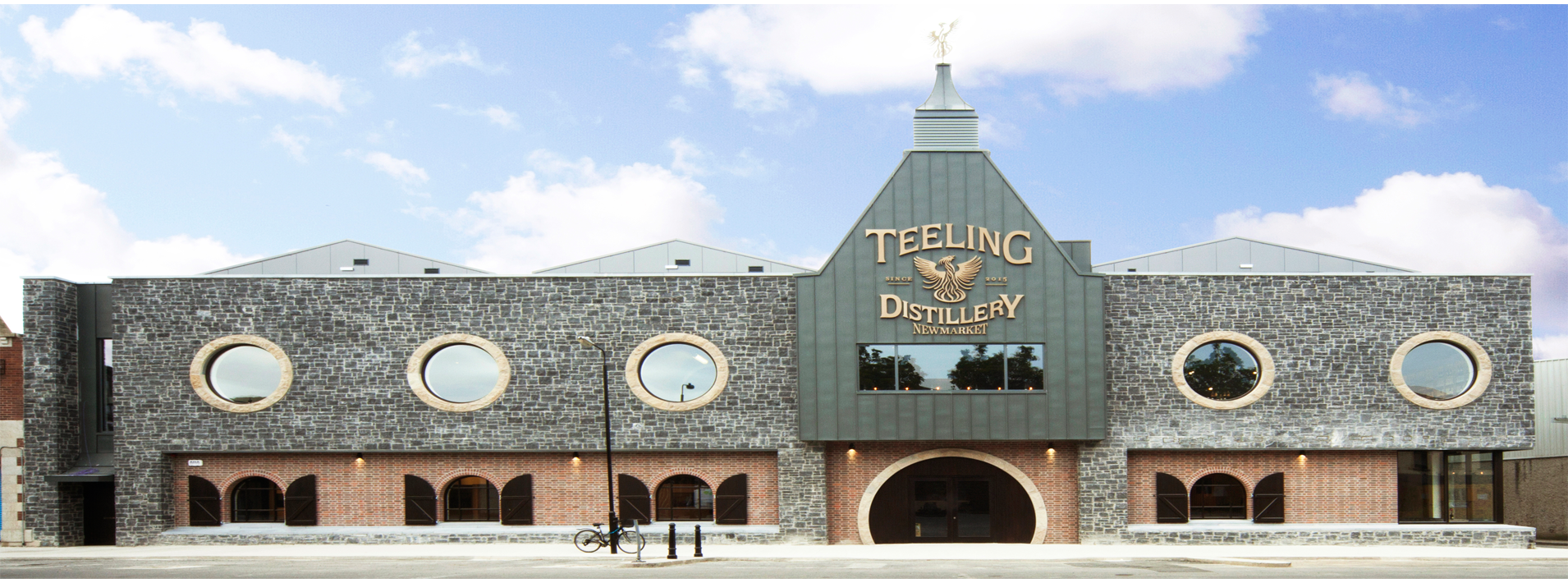 Landscape image of the new The Teeling Whiskey Distillery, Dublin