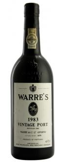Image of the 1983 Vintage Port, Warre's 75cl Bottle