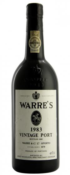 Bottle image 1983 Vintage Port | Warre & Co