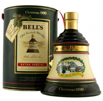 Bell's Decanter Christmas 1990