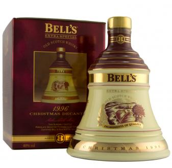 Bell's Decanter Christmas 1996