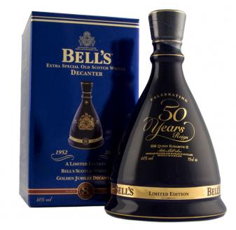 Bell's Golden Jubilee Decanter
