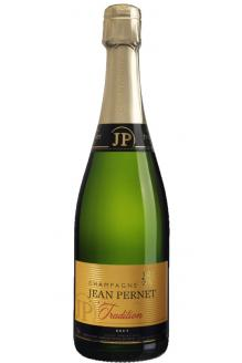 Click on image to review the N/V Jean Pernet Tradition Brut Champagne
