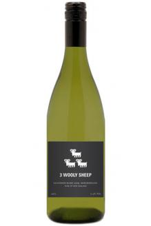 Review the 3 Wooly Sheep Sauvignon Blanc, from Lawson's Dry Hills