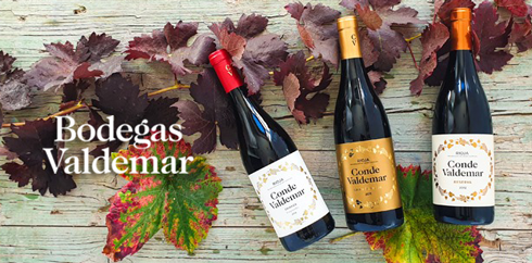 Selection of Bodegas Valdemar Wine Range