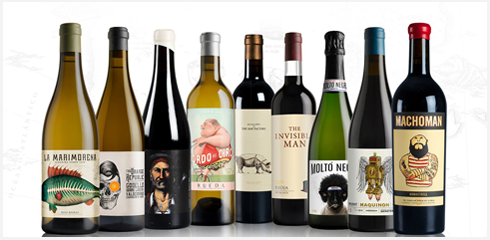 Selection of Casa Rojo Wine Range
